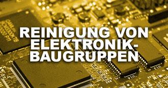 Reinigung von Elektronik