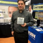 KYZEN's Erik Miller Receives Distinguished Speaker Award during SMTA Guadalajara