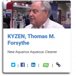KYZEN's Tom Forsythe Interviews with I-Connect007 at IPC APEX